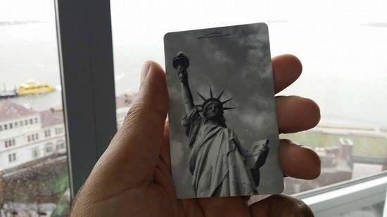 The Ritz-Carlton New York, Battery Park : My room key