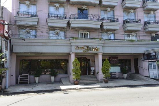 Casa Leticia Boutique Hotel : Från gatan