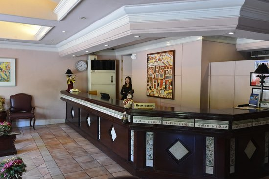 Casa Leticia Boutique Hotel: Receptionen