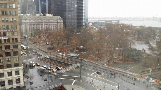 The Ritz-Carlton New York, Battery Park: View from my room