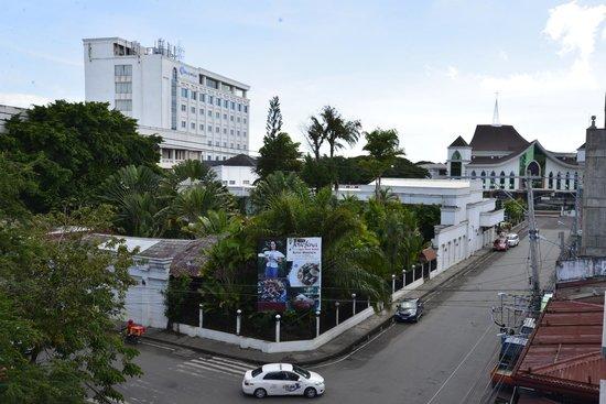 Casa Leticia Boutique Hotel: Utsikt från balkongen