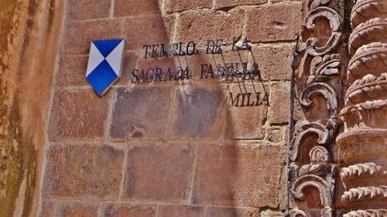 Catedral del Cuzco o Catedral Basílica de la Virgen de la Asunción: Signage