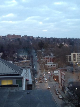 Hilton Garden Inn Ithaca: View from 7th floor suite