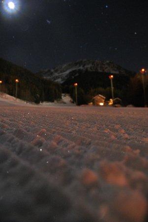 Hotel Flora Alpina : pista in notturna