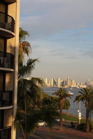 Hilton San Diego Airport/Harbor Island : From the balcony.