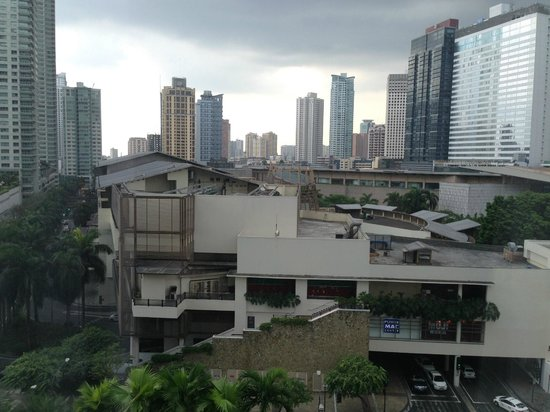Fairmont Makati: View of Makati
