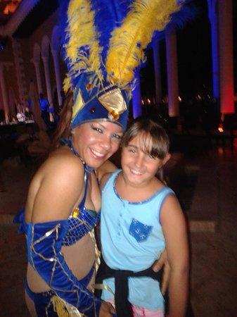 The Reserve at Paradisus Palma Real: Caridad y mi hija !