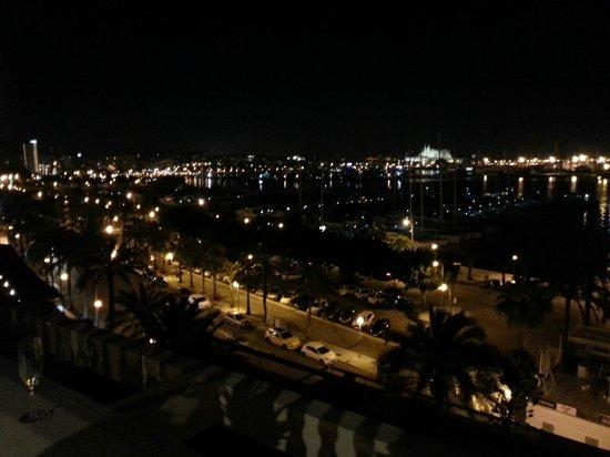 Bahia Mediterraneo: Views from the outside terrace!