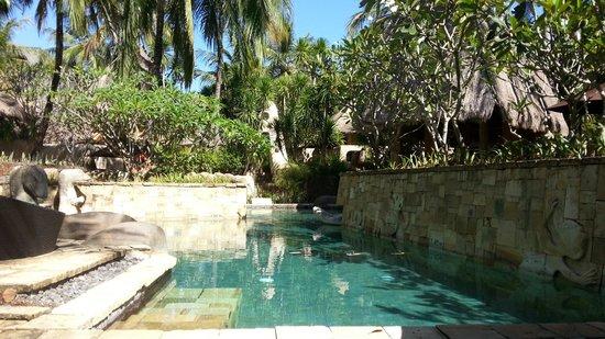 Novotel Lombok: Villa poolside