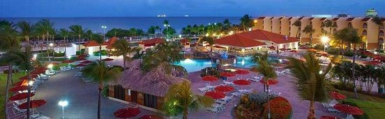 La Cabana Beach Resort Pool Deck At Dawn
