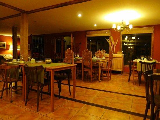 Hosteria La Estepa: wonderful restaurant