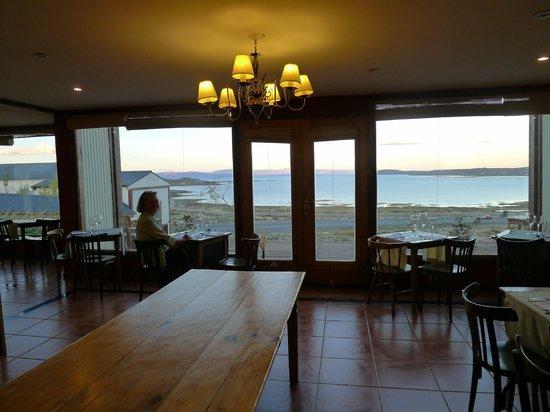 Hosteria La Estepa: view from dining room