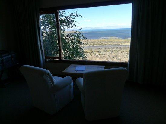 Hosteria La Estepa: breathtaking views from room
