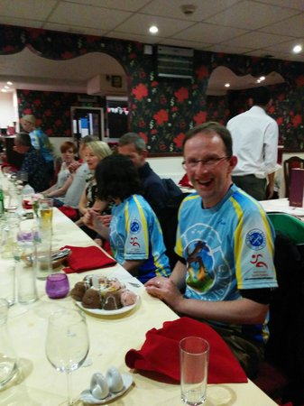Tandoori Tonight: Happy Birthday to one of the runner James