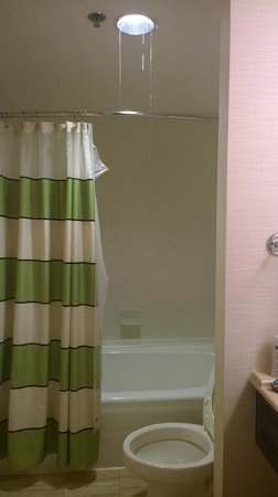 Fairfield Inn & Suites Atlanta Downtown: Heavy water leak from bathroom ceiling