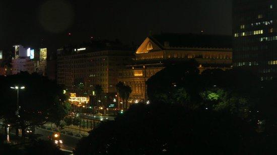 Pestana Buenos Aires: A vista do Hotel a noite, linda!