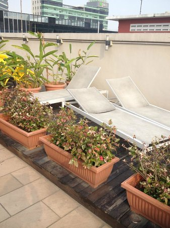 Mercury Backpackers' Hostel: On Roof