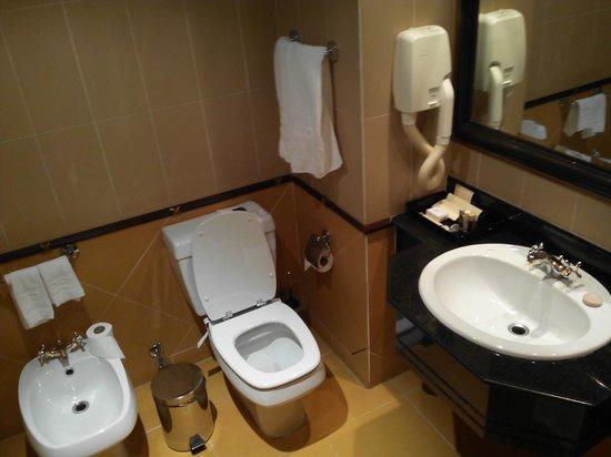 Hotel Alvalade: Toilet
