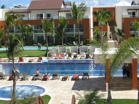 Breathless Punta Cana Resort & Spa : 3rd floor pool view