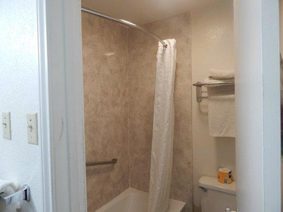 Econo Lodge: New Shower/bath