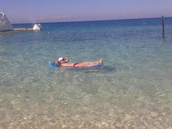 Playa Palancar: Água mais límpida já vista