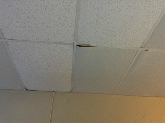 Coral by the Sea Hotel : More ceiling issues