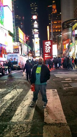 Me Standing in Times Square!