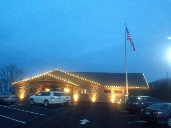 The Wonder Bar Steakhouse: Our new exterior and parking lot