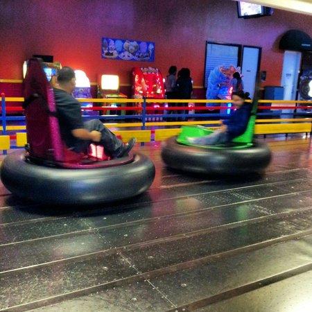 Houston, TX: Bumper cars.