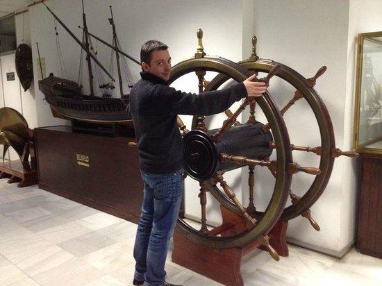 Naval Museum : штурвал