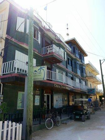China Town Hotel: Fachada principal