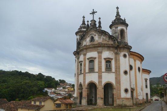 Our Lady of Rosario dos Pretos church : fachada