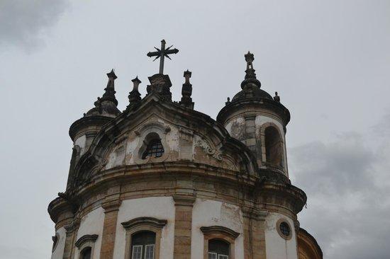 Our Lady of Rosario dos Pretos church : detalhe