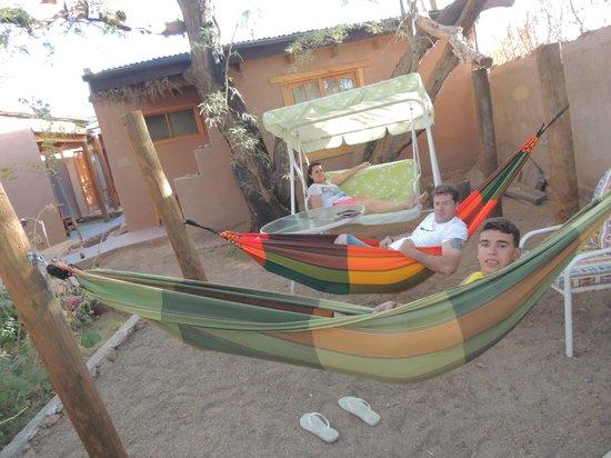Hostal Elim: Relaxando
