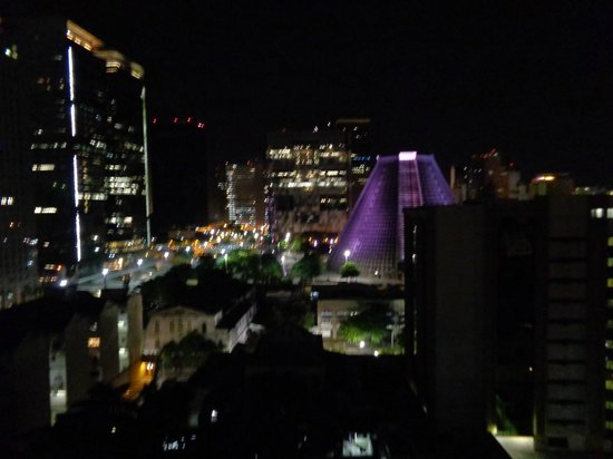 Hotel Granada : vista panoramica de la terraza