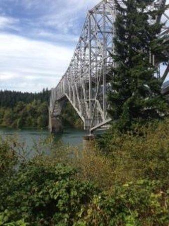 Bridge of the Gods on the Columbia River