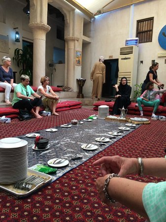 Sheikh Mohammed Centre for Cultural Understanding: Coffee and dates after tour