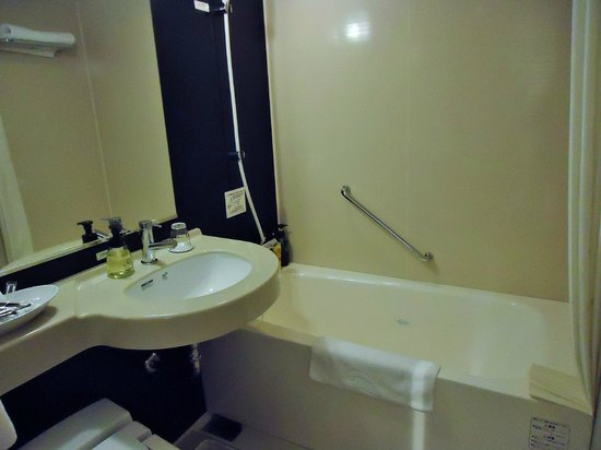 Hotel The Westhills Mito: バスルーム
