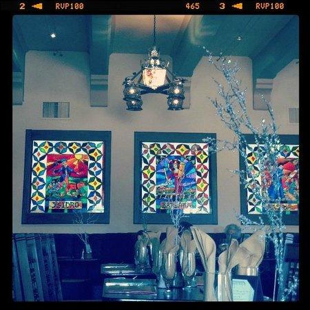 Turquoise Room: Inside the restaurant