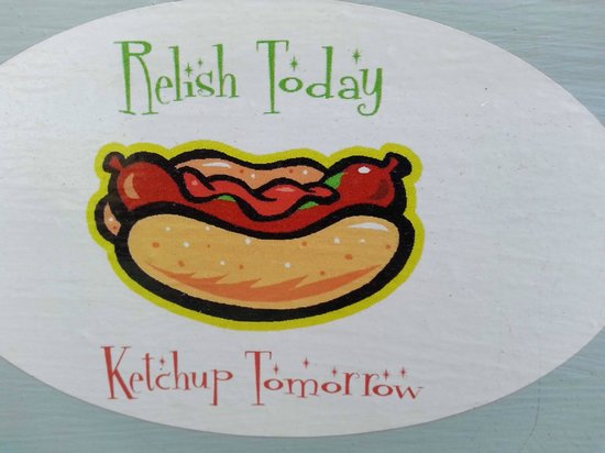 Cow Dog: Relish today...