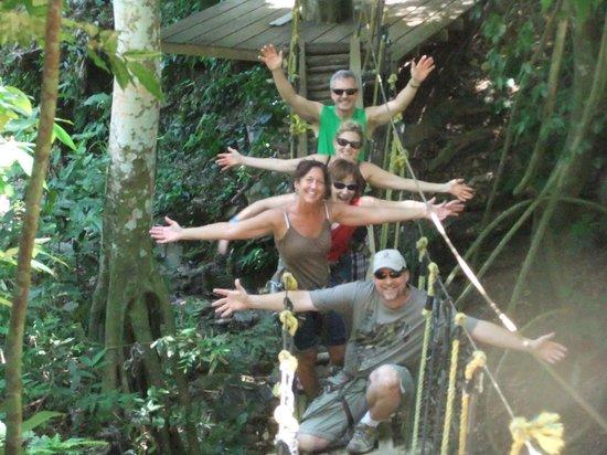Jungle Top Zipline Adventure: Sooo much fun!