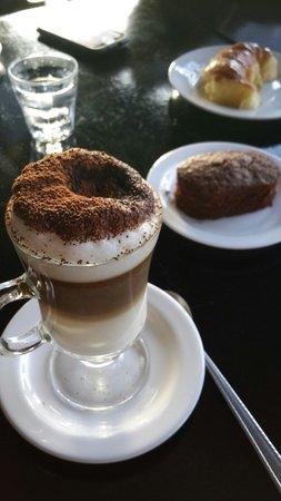 Boca Chica Puerto: Capuccino Doble con Brownie