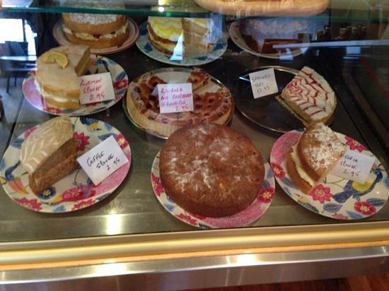 Salcombe Coffee Co: the cakes!