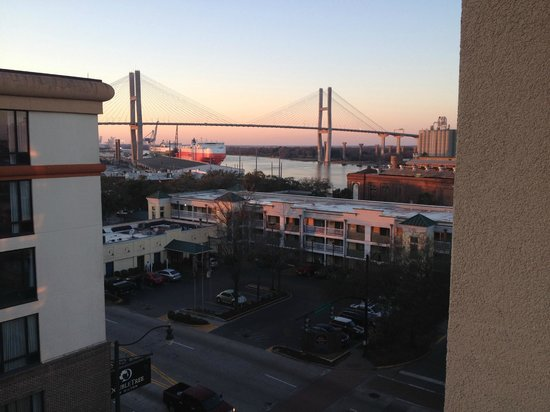 Hilton Garden Inn Savannah Historic District : view from balcony