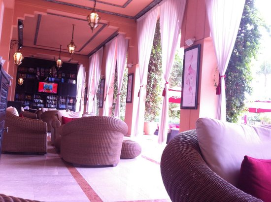 Sofitel Marrakech Lounge and Spa : Le patio