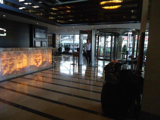 Titanic City Hotel: recéption