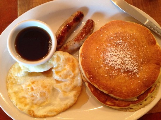Squat and Gobble: Basic breakfast $10.00