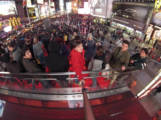 Times Square : Отсюда хороший вид