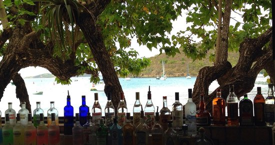 Joe's Rum Hut: The view from here.