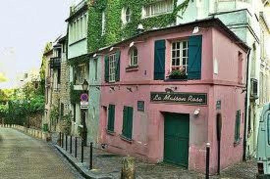 Visite conf rence de ce charmant quartier de la butte aux for La maison rose lourmarin
